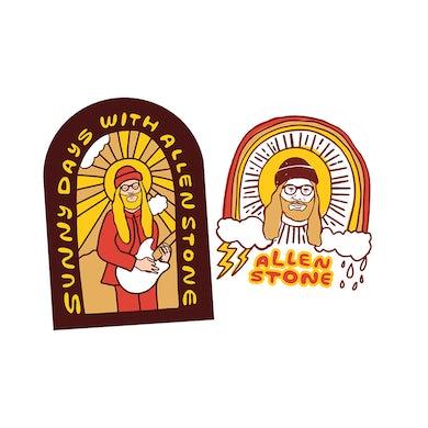 Allen Stone Sunny Day Sticker Pack
