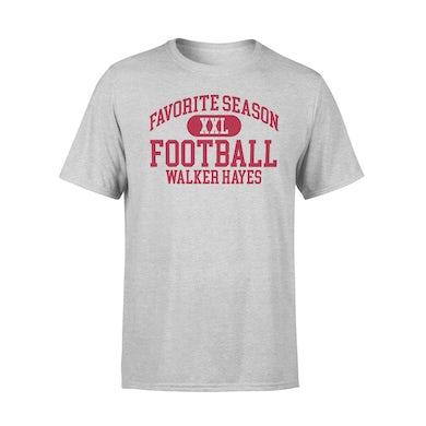 Walker Hayes Favorite Season FOOTBALL T-shirt