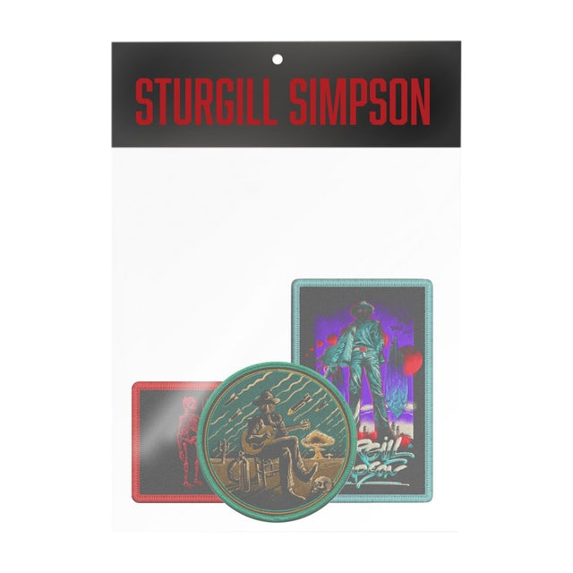 Sturgill Simpson A Good Look'n Tour Patch Set