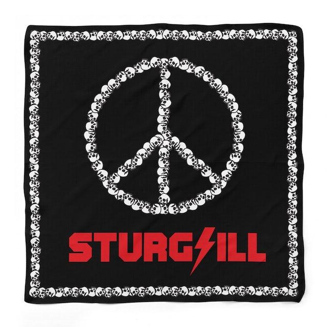 Sturgill Simpson Skull Peace Bandana
