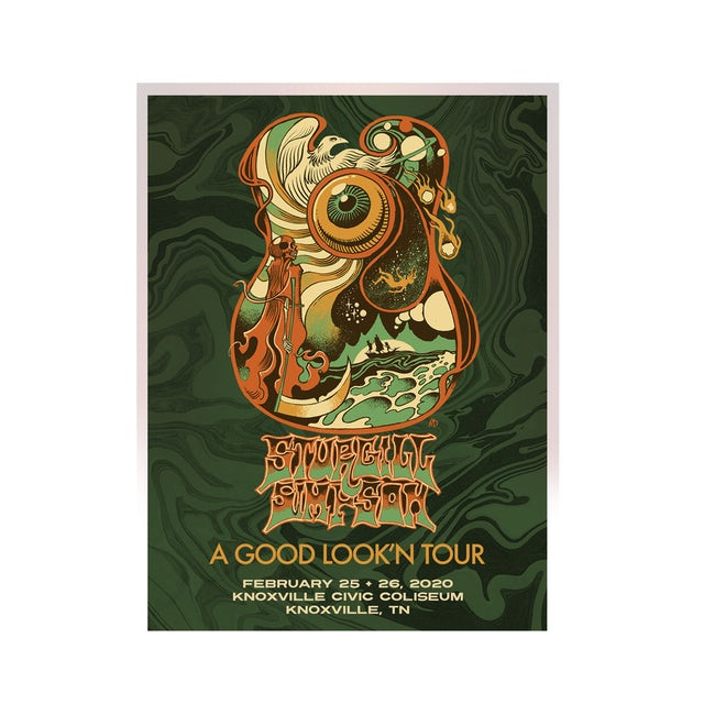 Sturgill Simpson Knoxville Lithograph