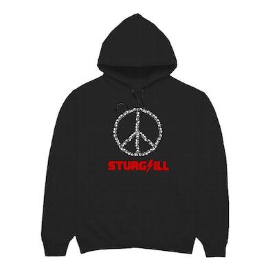 Sturgill Simpson Skull Peace Hoodie