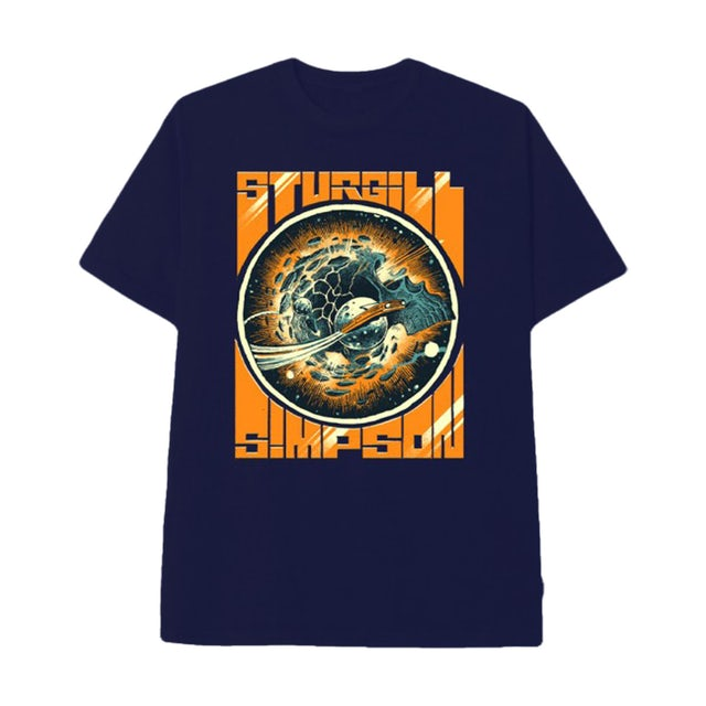 Sturgill Simpson Skull Planet Dateback T-shirt