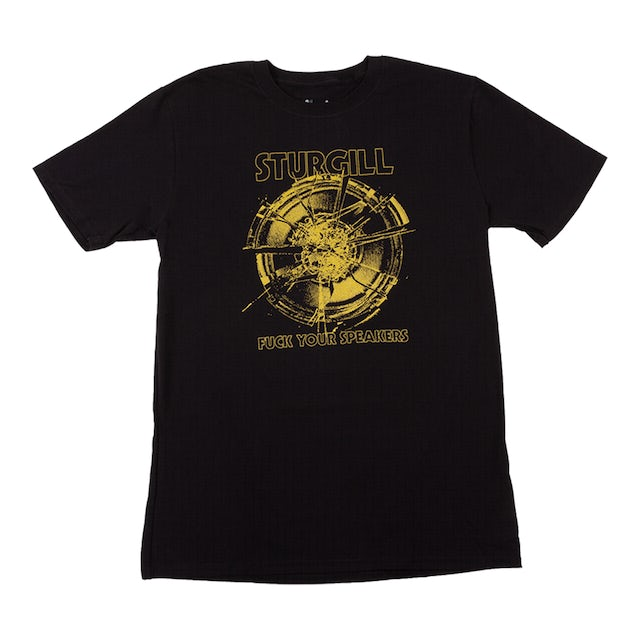 Sturgill Simpson F*ck Your Speakers T-shirt Yellow