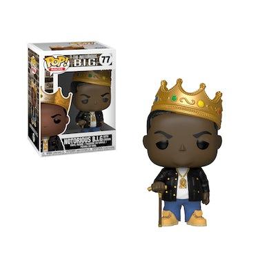 The Notorious B.I.G. Biggie Crown Funko Doll