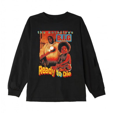 The Notorious B.I.G. Ready to Die Longsleeve T-Shirt