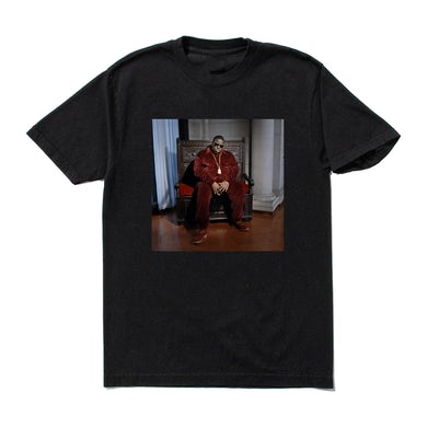 The Notorious B.I.G. Velour Throne T-Shirt
