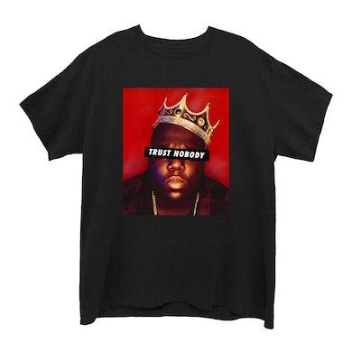The Notorious B.I.G. Trust Nobody Black Junior's Boyfriend T-Shirt