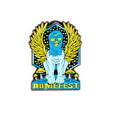 Pigeons Playing Ping Pong Domefest 2019 Pin