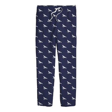Pigeons Playing Ping Pong Pigeon Ball Pajama Pants