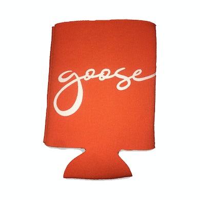 Goose Script Logo Koozie