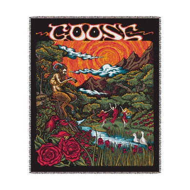 Goose Woven Blanket