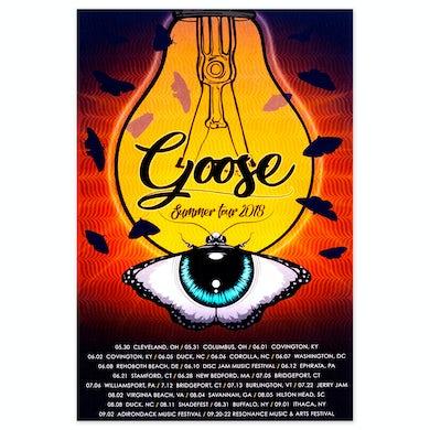 Goose 2018 Summer Tour Poster