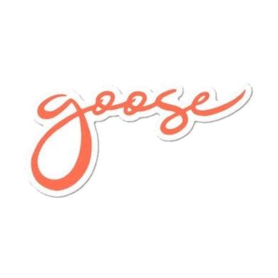 Goose Orange Logo Sticker