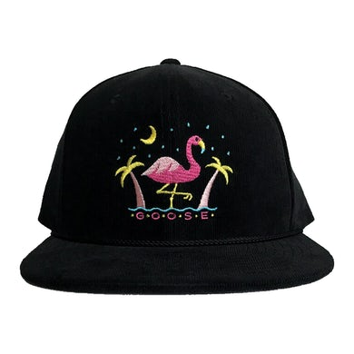 Goose Mislabeled Corduroy Snap-back Hat