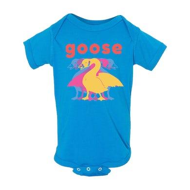 Goose Baby 5 Logo Onesie