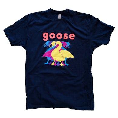 """Goose """"5"""" Navy T-shirt"""