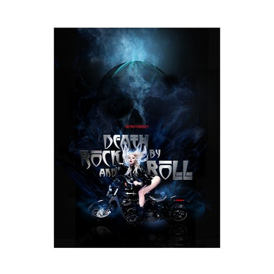 The Pretty Reckless Death By Rock And Roll Poster