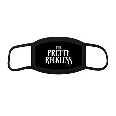 The Pretty Reckless Black Logo Mask