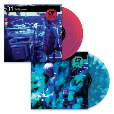 LP on LP 01 & 02 Vinyl