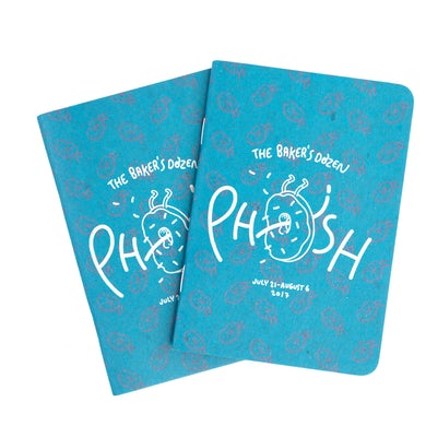 Phish Baker's Dozen Journal/Setlist Pad (Set of 2)