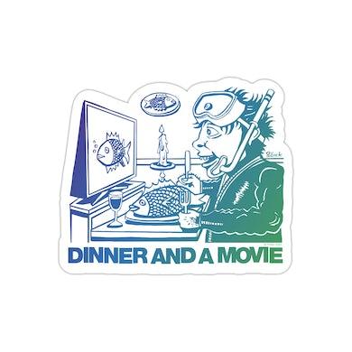 Phish Dinner And A Movie Pollock Fridge Magnet