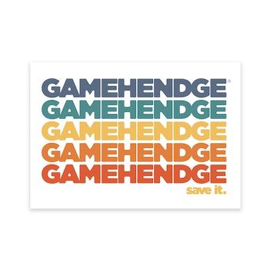 Phish Save Gamehendge Sticker