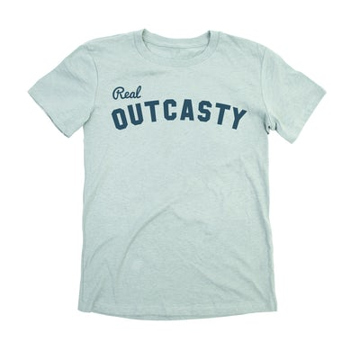 Phish Women's Real Outcasty Tee on Dusty Blue