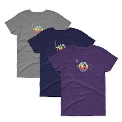 Phish Women's Classic Rainbow Logo Tee