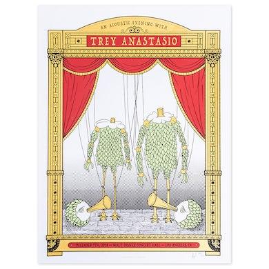 Phish Trey Anastasio Walt Disney Concert Hall, Los Angeles LE Poster