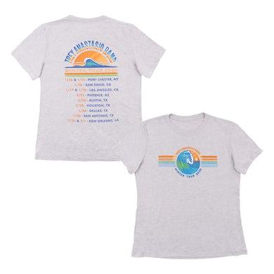 Trey Anastasio Band Women's Pacific Surf Tee