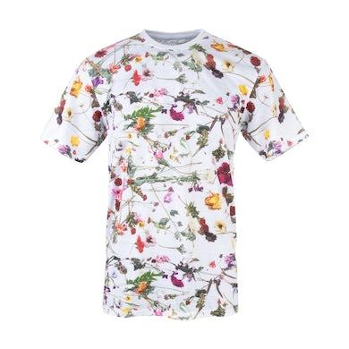 Prince Purple Rain Floral T-shirt