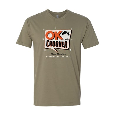Scott Bradlee's Postmodern Jukebox OK Crooner T-Shirt - Olive