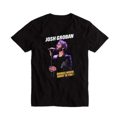 Josh Groban Movie Night Tee