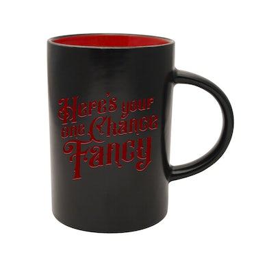 Reba Mcentire Fancy Black Mug