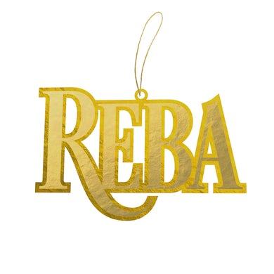 Reba Mcentire Gold Holiday Ornament