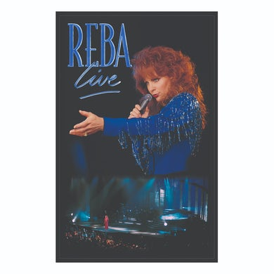 Reba Mcentire Reba Live 1994 Concert Special Lithograph