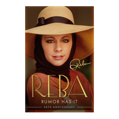 Reba Mcentire Rumor Has It Signed Lithograph