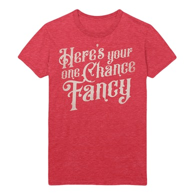 Reba Mcentire Fancy Red T-shirt