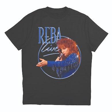 Reba Mcentire Reba Live 1994 Concert Special Black T-Shirt