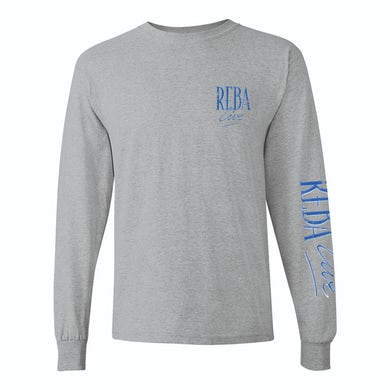 Reba Mcentire Reba Live 1994 Concert Special Grey Long-Sleeve T-Shirt