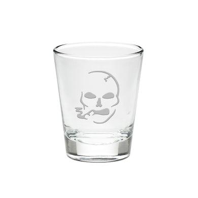 Slightly Stoopid Smoking Skull Shot Glass