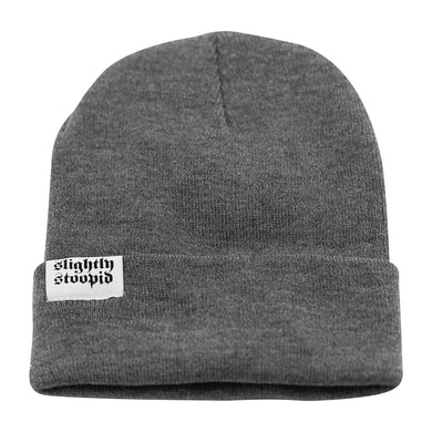 Slightly Stoopid Knit Beanie - Gray