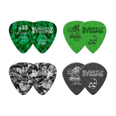 Slightly Stoopid Acoustic Roots Guitar Picks - 4 Pack