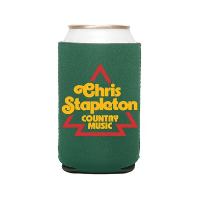 Chris Stapleton Green Koozie