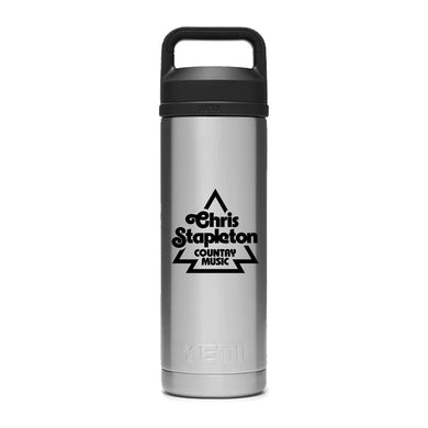 Chris Stapleton Stainless 18 oz Yeti Rambler with Chug Cap