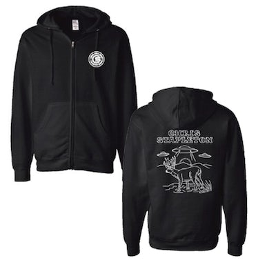 Chris Stapleton Black Alien Buck Zip Hoody
