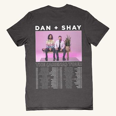 Dan + Shay Arena Tour Dateback T-shirt