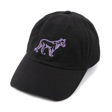 Whitney Houston Black Lioness Embroidered Dad Hat