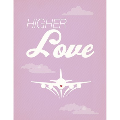 Whitney Houston Higher Love Card